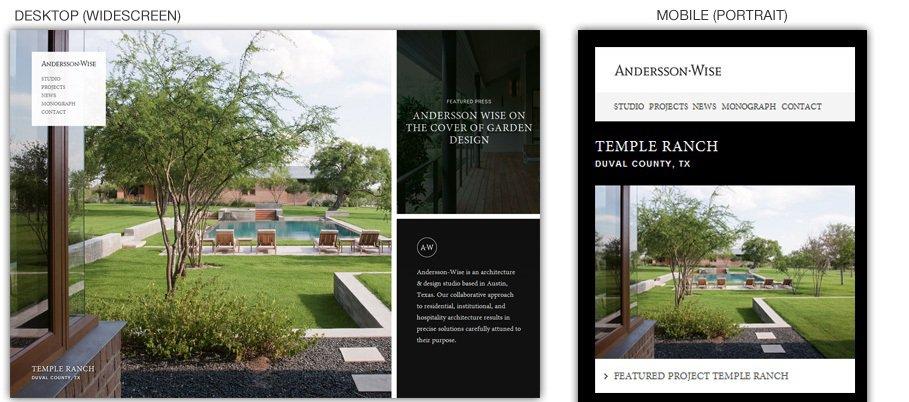 responsive webdesign example