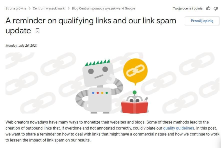 spam link update 26/07/21