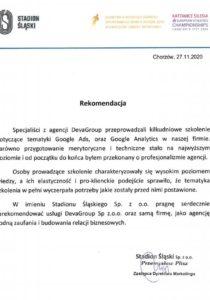 STADION ŚLĄSKI Sp zo.o.